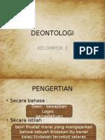 DEONTOLOGI