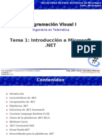 Tema1-Introduccion a Microsoft .NET
