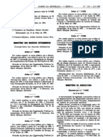 Pescado - Legislacao Portuguesa - 1995/05 - DL nº 112 - QUALI.PT