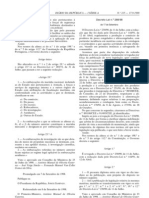 Pescado - Legislacao Portuguesa - 1998/09 - DL nº 288 - QUALI.PT