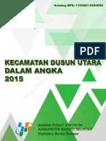 Dusun Utara Dalam Angka 2015