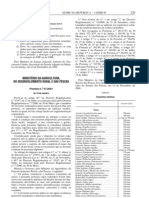 Pescado - Legislacao Portuguesa - 2001/01 - Port nº 27 - QUALI.PT