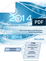 Perdarahan Uterus Abnormal
