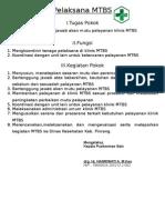 kriteria Pelaksana MTBS