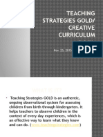 teaching strategies gold- slide show