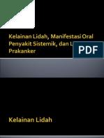 Kelainan Lidah Lesi Prakanker
