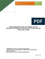 Normas de TFC 2014-1 - Engenharia Mecânica