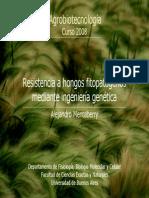 Resistencia a Hongos Fitopatogenos