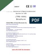 Thermal Resistance Spectroradiometer System for LED