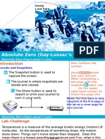 Absolute Zero (Gay-Lussac's Law)