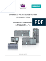 Manual PLC / AUTOMATIZACION INDUSTRIAL