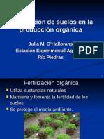 Fertilización química  Vs organica