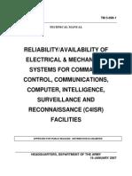 Tecnical Manual Availability Army