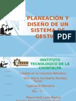 4.1 Planeacion y Diseño de Un Sistema de Gestion
