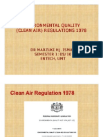 AIR QUALITY AND POLLUTION (TKA 3301)  LECTURE NOTES 6- EQA 1974