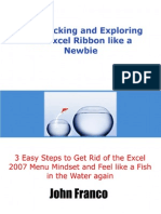 Stop Clicking Exploring Excel Ribbon Like Newbie