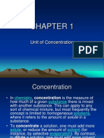 ENVIRONMENTAL BIOLOGY (TKA3104)  LECTURE NOTES -1Unit of Concentration