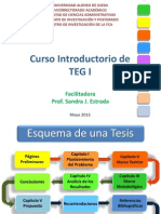 Curso Introductorio Estructura de Un Teg Blog
