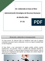 Capítulo IV- Atracción, selección e incorporación