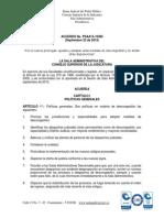 PSAA15-10385 Consejo Superior de La Judicatura
