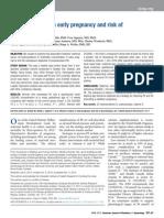 Vitamin D and Risk of Preeclampsia