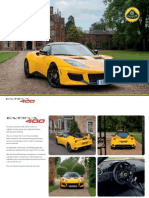 Lotus Evora 400 Official Brochure