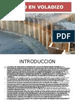 Muro en Voladizo