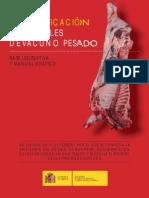 Manual Clasificacion Canales Vacuno Pesado