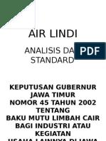 Air Lindi (Analisis Dan Standard)