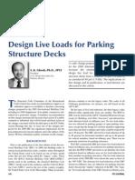 Design Load Parking 2005