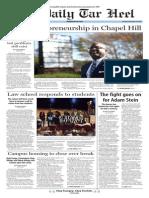 The Daily Tar Heel for Nov. 24, 2015