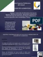 Análisis de Alimentos Presentación