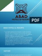 Abad Hotels and Resorts, Kerala