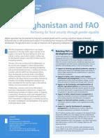 FAO Afghanistan - 2012 - 2015