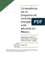 co Beneficios de una vivienda energetica