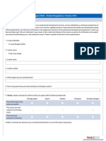 Survey for Language learning