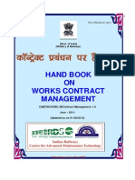 Handbook on Works Contract Management