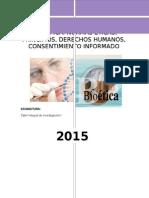 Bioetica en La Investigacioncientifica