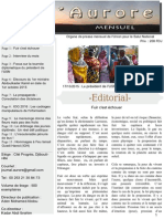 Journal L'Aurore, édition N°3