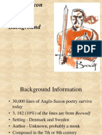 Beowulf Anglo Saxon and Beowulf Background