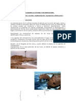 Geologia Tema III. Geodinamica Externa y Metamorfismo