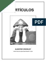 Articulos de Aleister Crowley