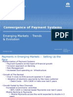 convergence of payment systems