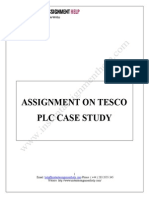 Tesco plc case study -Instant Assignment Help