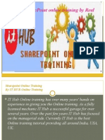 The Best SharePoint online training by Real Time Experts