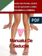 Manual de Seductie - Juan
