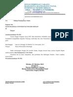 Surat Peminjaman Tenda