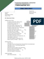 Final Data Sheet Program