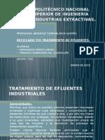 Tratamiento de Efluentes Industriales