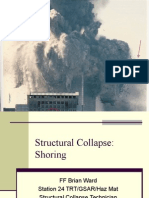 Shoring for Structural Collapse Brian Ward 1